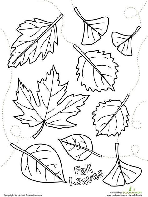 fall leaves coloring pages printable fall coloring pages