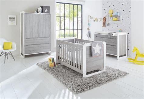 chambre bébé blanche et grise chambre bébé grise curve pinolino 103440b lestendances fr