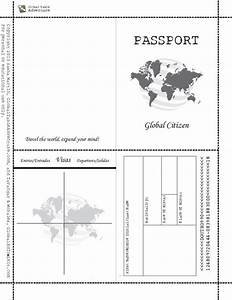 25 basta ideerna om passport template pa pinterest With word passport photo template