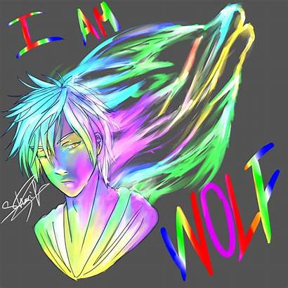 Neon Wolf Am Deviantart Drawings