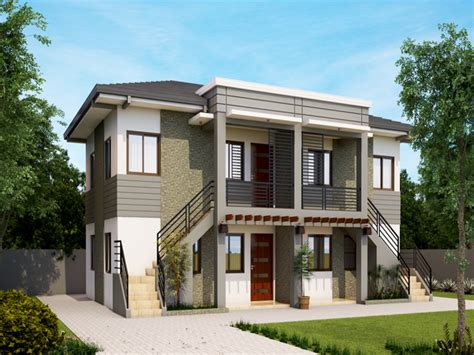 Small Apartment Exterior Design In The Philippines H