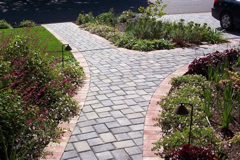 landscaping ideas for walkways stone walkway pavers install it direct idolza