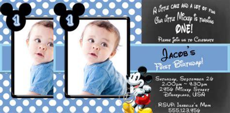 mickey mouse invitation templates  sample