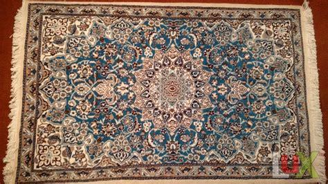 tappeti nain tappeto persiano modello nain azzurro