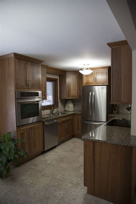 showplace hickory wood cabinetry inset pendleton door
