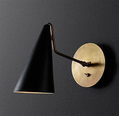 Rh Modern Bathroom Lighting by Rh Modern S Clemente Sconce With Its Pared Lines And
