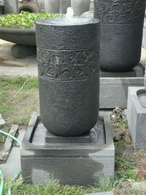 concrete water fountains cwf  pottery bali