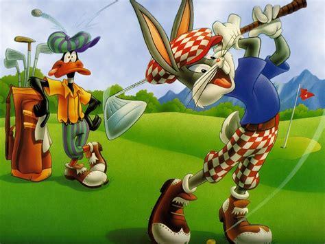 wallpapers cartoon wallpaper bugs bunny golf