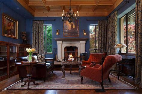 fireplace doors 26 blue living room ideas interior design pictures