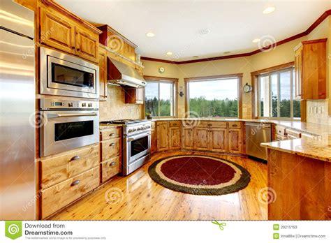 cuisine americaine de luxe intérieur à la maison de luxe en bois de cuisine maison