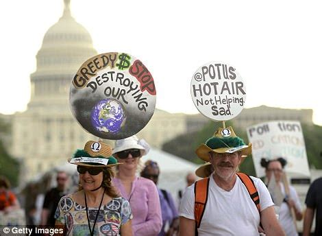 Leonardo DiCaprio marched in climate change protest in DC ...