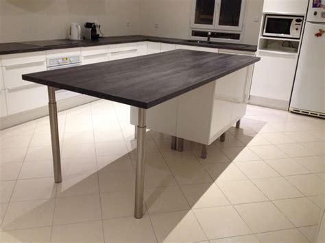 creer ilot de cuisine pose des meubles hauts de la cuisine ma maison phenix