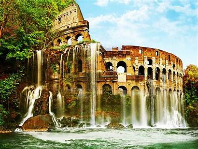 Colosseum Rome Desktop Wallpapers Ancient Backgrounds Pc