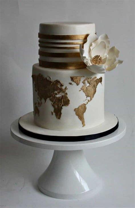 modern mixed pattern wedding cakes  wedding ideas