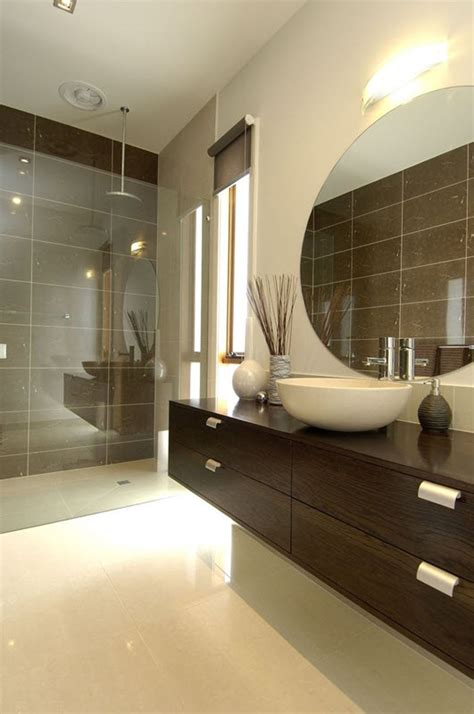 brown bathroom wall tiles ideas  pictures
