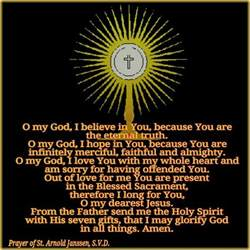 Blessed Sacrament Adoration Prayers