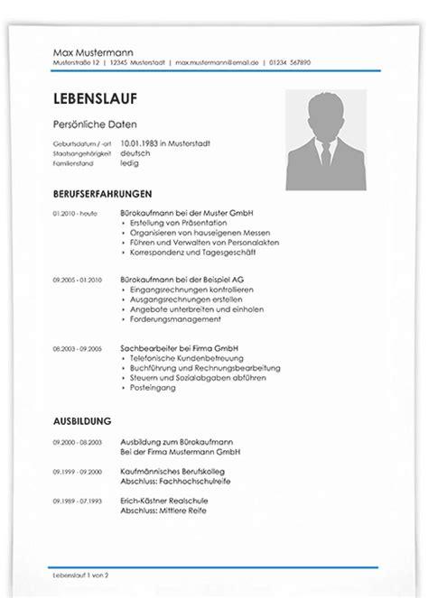 Lebenslauf Mit Foto Muster by Einfach Bewerben Moderne Und Kreative Vorlagen F 252 R Lebenslauf
