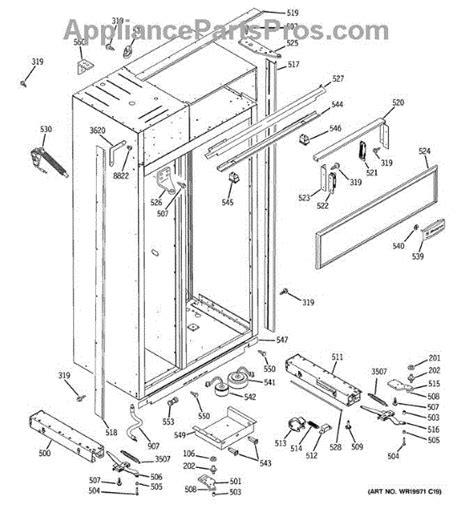parts  ge zissdrkss case parts appliancepartsproscom