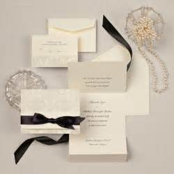 fancy wedding invitations damask wedding invitation in ecru wedding invitation