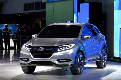 Honda Urban Suv Concept Previews Fitbased Crossover