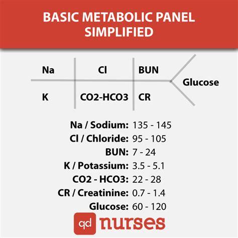Basic Metabolic Panel Simplified