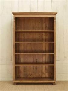 Bibliothèque En Pin : biblioth que pin massif en vieux bois ~ Teatrodelosmanantiales.com Idées de Décoration