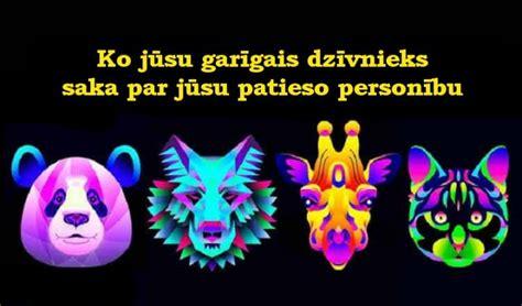 Ko jūsu garīgais dzīvnieks saka par jūsu patieso personību ...