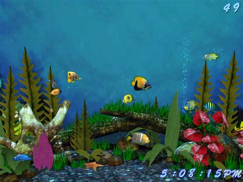 Free Animated Fish Wallpaper Windows 7 - aquarium wallpaper for windows 7 wallpapersafari