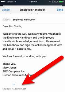 how to sign documents and mark up attachments in ios mail With sign documents email