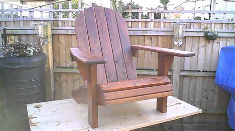 adirondack chair planter and stool