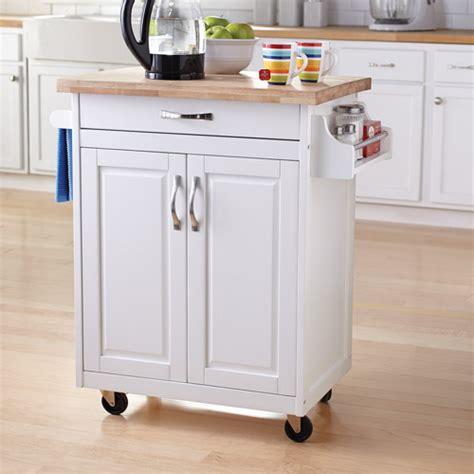 portable kitchen island with drop leaf mainstays kitchen island cart finishes walmart com