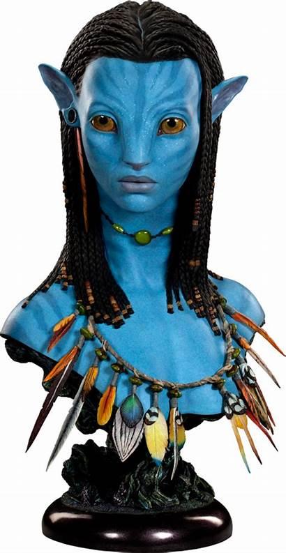 Neytiri Avatar Bust Sideshow Fantasy Collectibles Statue