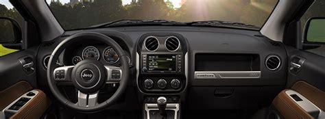 jeep compass 2016 interior jeep compass 2016 características interiores de comodidad