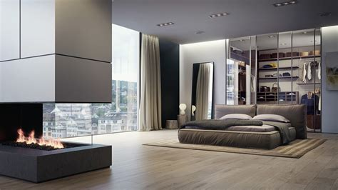 dressing ouvert chambre 21 cool bedrooms for clean and simple design inspiration