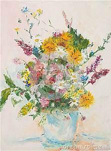 Beau Bouquet De Fleur : beau bouquet de fleur peinture l 39 huile photographie ~ Dallasstarsshop.com Idées de Décoration