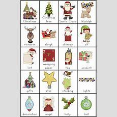 Free Christmas Vocabulary Charts And Writing Tasks