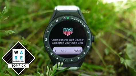 Tag Heuer Connected Modular 45 Golf Edition review | Tag ...