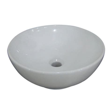 Aquasource Pedestal Sink In by Aquasource White Vitreous China Pedestal Vessel Sink