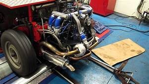 Vw 2130cc  Aircooled  Turbo  Efi  Motor On The Dyno