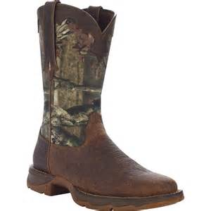 Camouflage Western Boots