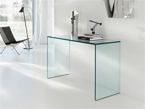bureau dessus verre console en verre 50 idées de décoration d 39 intérieur