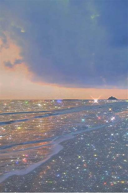 Pastel Aesthetic Backgrounds Wallpapers Quotes Glitter Ocean