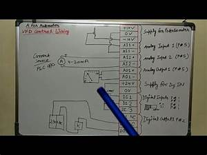 Ac  Dc Drive  Vfd Control Terminal Wiring Diagram And