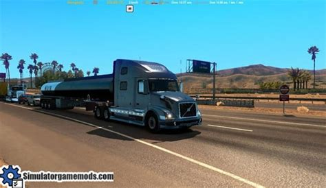 volvo 870 truck ats volvo vnl 780 reworked truck simulator games mods