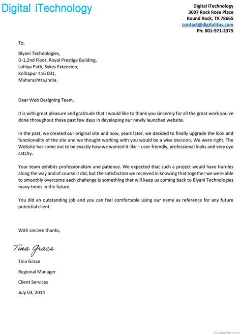For Service by Customer Satisfaction Letter Satisfy Customers