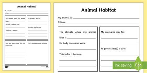 science worksheets ks2 habitats animal habitat worksheet animal habitats habitats worksheet