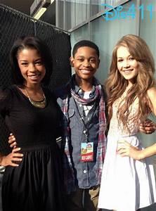Photo: Angel Parker, Tyrel Jackson Williams And Kelli ...