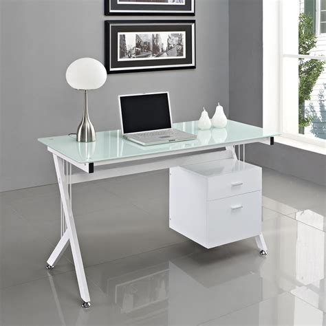 home office desk ideas white glass computer desk pc table home office