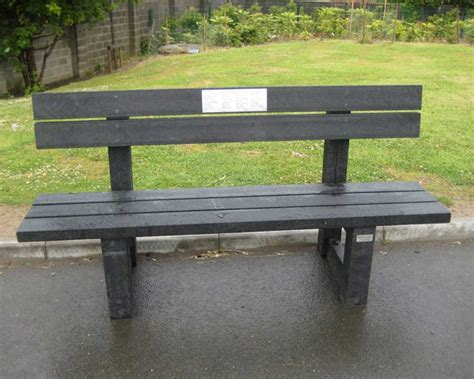 Buddy Bench by Buddy Bench Murray S Recycled Plastic
