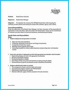 Resume Format For Medical Representative Crafting A Great Assistant Store Manager Resume